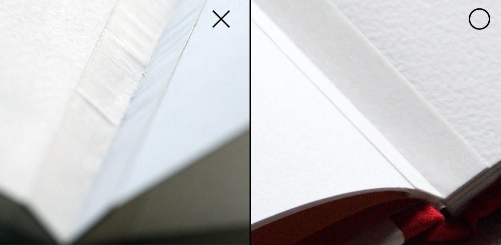 紙伸びのシワ2